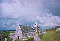 Kloster in Clonmacnois