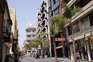 Shoppingmeile in Santa Cruz