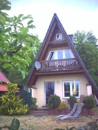 Haus am See mit Boot u.Kamin /Finnhütte Jano ab 65 € Ferienhaus ...