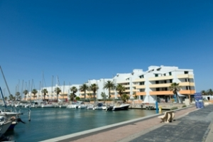 Ferienwohnung direkt am Meer im Hafen Port Barcarès