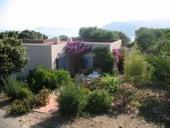 Villa Capicciolo, Haus mit Panoramaaussicht, in der Balagne, an der Westküste, am Meer