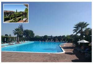 FeWo 46 mit Pool + 30 m² privatem Garten. Haustiere erlaubt