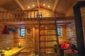 Ferienhaus am Wildfluss in Lappland