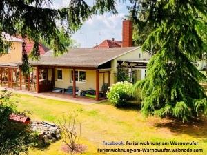 Familienfreundliche Ferienwohnung am Warnowufer mit Terrasse