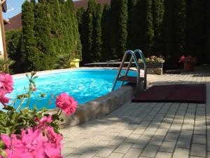 Ferienhaus mit POOL für 7 person Fonyód
