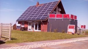 Nordseeoase Pethan mit Sauna - Ferienhaus mit 2 Wohnungen